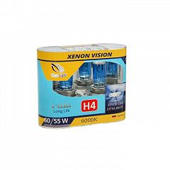 Лампа H4 Clearlight Xenon Vision (2 шт.)