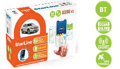 Автосигнализация STAR LINE AS96 v2 BT 2CAN+4LIN GSM/GPS