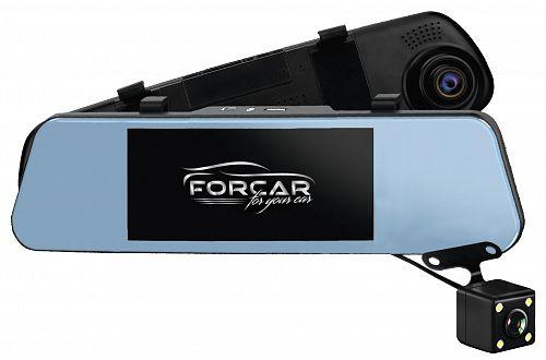 Зеркало-видеорегистратор FORCAR MR-F680FHD  - купить в Самаре, цена в интернет-магазине Престиж Авто