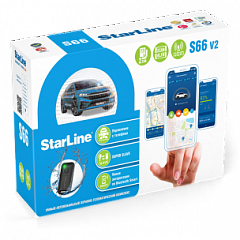 Автосигнализация StarLine  S66BTv2 GSM (2CAN+4LIN) 2SIM